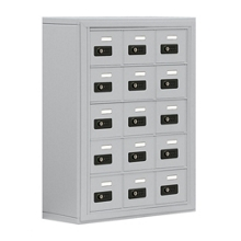 "24""W x 31""H 15 Compartment Cell Phone Locker with Combination Lock, 31055"