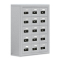 """24""""W x 31""""H 15 Compartment Cell Phone Locker with Combination Lock, 31055"""