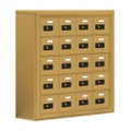 "30.5""W x 31""H 20 Compartment Cell Phone Locker with Combination Lock, 31056"