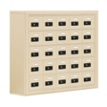 """37""""W x 31""""H 25 Compartment Cell Phone Locker with Combination Lock, 31057"""