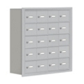 """30.5""""W x 31""""H 20 Compartment Cell Phone Locker with Key Lock, 31059"""