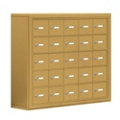 """37""""W x 31""""H 25 Compartment Cell Phone Locker with Key Lock, 31061"""