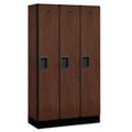 "Three Door Locker 64""H x 15""D, 36673"