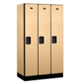 "Three Door Locker 64""H x 18""D, 36674"