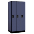 "Three Door Locker 76""H x 21""D, 36670"
