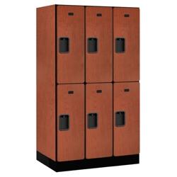 """Six Door Locker 64""""H x 21""""D, 36663"""