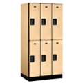 "Six Door Locker 76""H x 21""D, 36666"