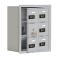 "17.5""W x 20""H 5 Door Cell Phone Locker with Combo Lock and Access Panel, 36463"