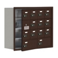 "30.5""W x 25.5""H 13 Door Cell Phone Locker with Combo Lock and Access Panel, 36469"