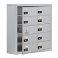 """30.5""""W x 31""""H 9 Door Cell Phone Locker with Combo Lock and Access Panel, 36472"""