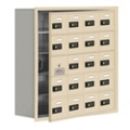 """30.5""""W x 31""""H 19 Door Cell Phone Locker with Combo Lock and Access Panel, 36475"""