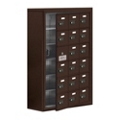 "24""W x 36.5""H 17 Door Cell Phone Locker with Combo Lock and Access Panel, 36478"