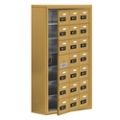 """24""""W x 42""""H 20 Door Cell Phone Locker with Combo Lock and Access Panel, 36482"""