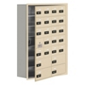 "30.5""W x 42""H 23 Door Cell Phone Locker with Combo Lock and Access Panel, 36483"
