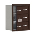 "17.5""W x 20""H 5 Door Cell Phone Locker with Key Lock and Access Panel, 36485"