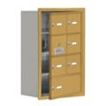 "17.5""W x 25.5""H 6 Door Cell Phone Locker with Key Lock and Access Panel, 36489"
