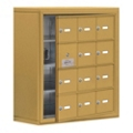 "24""W x 25.5""H 11 Door Cell Phone Locker with Key Lock and Access Panel, 36490"