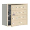 "30.5""W x 25.5""H 13 Door Cell Phone Locker with Key Lock and Access Panel, 36491"