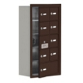 "17.5""W x 31""H 8 Door Cell Phone Locker with Key Lock and Access Panel, 36493"