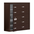 """30.5""""W x 31""""H 9 Door Cell Phone Locker with Key Lock and Access Panel, 36494"""