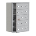 "24""W x 31""H 14 Door Cell Phone Locker with Key Lock and Access Panel, 36495"