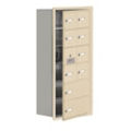 """17.5""""W x 36.5""""H 9 Door Cell Phone Locker with Key Lock and Access Panel, 36499"""