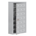 """24""""W x 42""""H 20 Door Cell Phone Locker with Key Lock and Access Panel, 36504"""