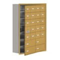 """30.5""""W x 42""""H 23 Door Cell Phone Locker with Key Lock and Access Panel, 36505"""