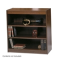 "36.75""H Three Shelf Square Edge Bookcase, 32117"