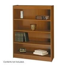 """48""""H Four Shelf Square Edge Bookcase, 32118"""