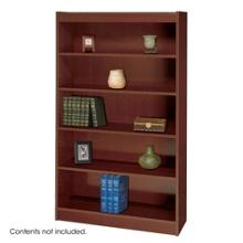 """60""""H Five Shelf Square Edge Bookcase, 32119"""