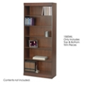 "30""W x 72""H Six Shelf Bookcase with Trim Kit, 32140"