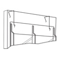 Hangers for Literature Rack, 33177