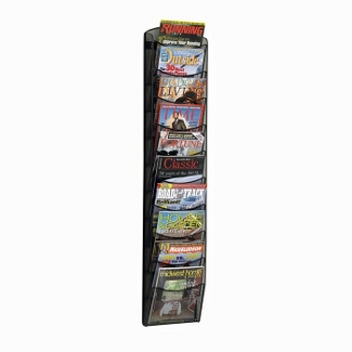 Magazine Rack with 10 Pocket, 34485