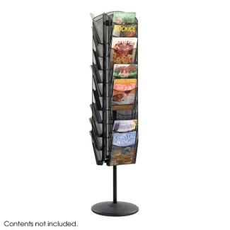 Magazine Stand with 30 Pockets, 34488