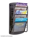Three Pocket Steel Literature Display Rack, 36398