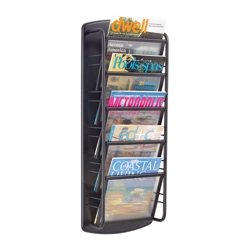 Five Pocket Steel Literature Display Rack, 36399