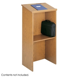 Traditional Lectern with Shelf, 43296