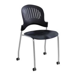 Mobile Plastic Stack Chair, 51021