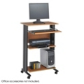 Mobile Standing Height Computer Workstation, 60993