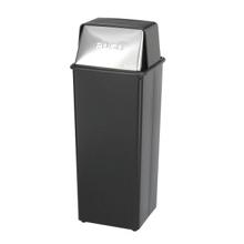 Push Top Trash Bin - 21 Gallon Capacity, 85257
