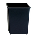 Square Trash Bin - 31 Quart Capacity, 85268