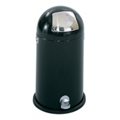 Step On Dome Top Trash Can - 12 Gallon Capacity, 85286