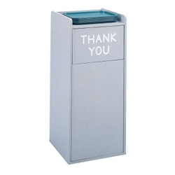 Tray Top Trash Can - 36 Gallon Capacity, 85290