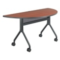 "Rumba Half Round Nesting Table - 60"" x 30"", 41824"