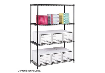 """48"""" x 24"""" Industrial Wire Shelving Unit, 36370"""