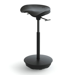 Stool with Rubber Base by Focal Upright, 50936