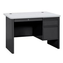 """Steel Single Pedestal Compact Desk - 48""""W x 30""""D, 11343"""