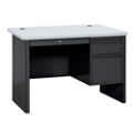"Steel Single Pedestal Compact Desk - 48""W x 30""D, 11343"