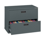 """30""""W 2 Drawer Steel Lateral File, 30076"""